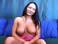 Exotic Asian Beauty Shows Off And Fucks