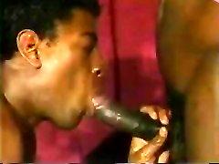 Black men threesome