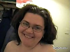 Fat amateur pleasuring herself at TryMyCam.com