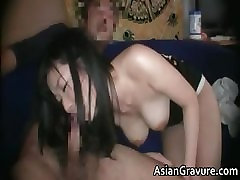 Cute brunette asian babe with great part3