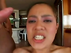 Tight Body Asian Fuck Toy For 2 Cocks