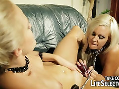 Lesbian BDSM therapist helps out a couple having sexual problems