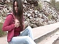 FTV Girls FTV Jessy amateur redhead babe walking down the street