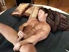 Horny male in amazing handjob gay xxx clip