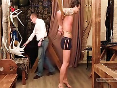 Exotic male in hottest bdsm homosexual porn clip