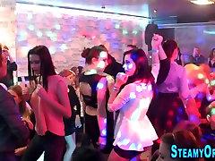 Party cfnm teen sucking