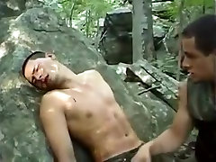 Amazing male in horny bdsm, fetish gay sex video