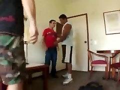 Fabulous male in crazy interracial gay xxx scene