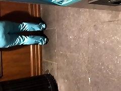 Ghetto big booty milf in light blue scrubs pt 2