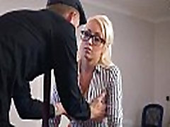 Christina Shine Girl With Round Big Tits In Hard Style Sex In Office clip-09