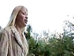 FTV Nikkie superb blonde babe public flashing tits