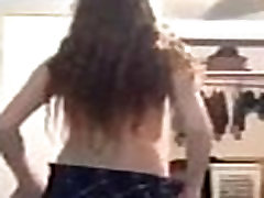 Great Pale Slutty Emo Teen Striptease more sexygirlzcam.com
