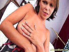 stepmoms oiled big natural boobs