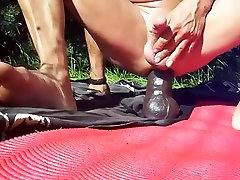 Horny Amateur Gay clip with Solo Male, Outdoor scenes