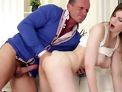 RARE clip of Big Natural Boobs Stella taking PUSSY CREAMPIE!