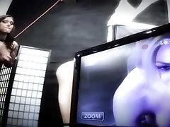Crazy Lesbian clip with BDSM,Facial scenes