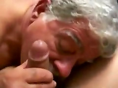 Moustache Daddy blowing 7