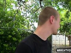 Hot gay interracial and anal cumshot