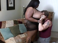 BBW interracial ebony candy cotton
