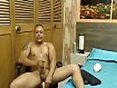 Hot tattooed gay with huge dick fucks butt