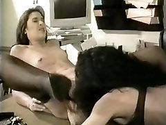 Crazy Lesbian scene with Stockings,DildosToys scenes