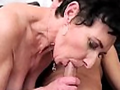 Granny riding young dick her grandson