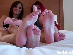 How about I tease you with my cute little feet