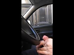 Dick flashing in car 15 - she looks