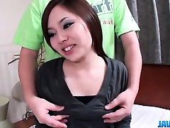 Sweet porn scenes along small tits Nan Oshikiri