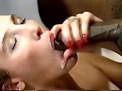 Retro Eurobrunette Interracial Anal