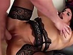Big tits mature Raven Hart gets an intense anal pounding and squirts girl juice