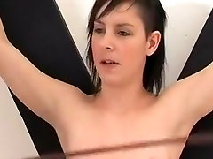 Exotic Homemade movie with Small Tits, BDSM scenes