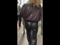 Blonde mature ass