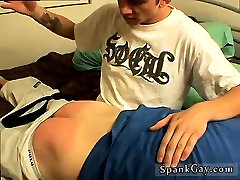 Mature men naked gay porns video Peachy Butt Gets Spanked