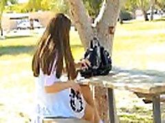 teen public upskirt in the park