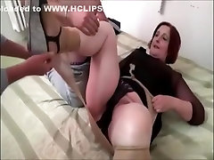 Amazing Amateur video with BBW, Stockings scenes