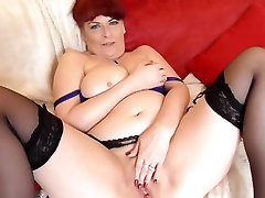 Sexy granny with big saggy tits and big ass