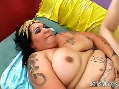 Raunchy Fat Girl Sucks Cock and Gets Fucked Hard