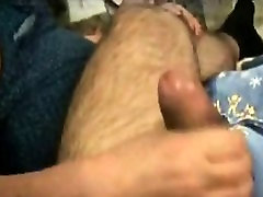 Matur big boobs handjob