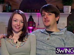 Babes enjoy making out in swinger reality show