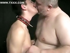 Horny homemade gay scene with YoungOld, BDSM scenes