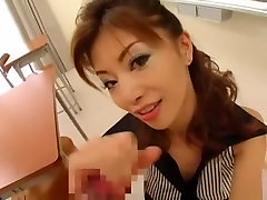 Incredible Japanese slut Anna Akizuki in Horny POV, Stockings JAV scene