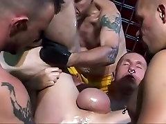 Best amateur gay clip with Group Sex, BDSM scenes
