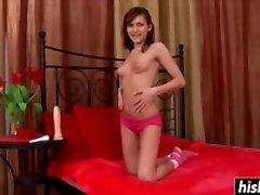 Teen princess likes to masturbate sensually