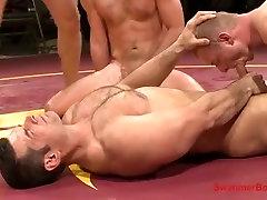Foursome Wrestling Sex