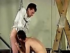 Male on anal gay sex bondage The nice youthfull twink is stringing up
