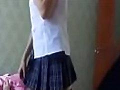 Russian school girl-Part 2 on: FreeCamBeauty.com