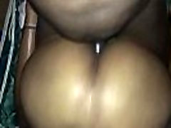 Black girl with fat ass creampie