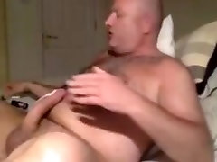 Irish daddy wanking