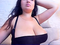 Amateur Brunette with Teen Boobs Takes a BBC